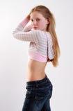 Portret van jong model Royalty-vrije Stock Foto