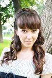 Portret van jong mooi meisje royalty-vrije stock fotografie