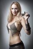 Portret van jong sexy model Royalty-vrije Stock Afbeeldingen