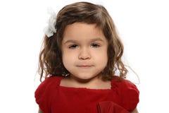 Portret van Jong Spaans Meisje stock foto's