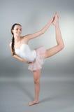 Portret van jonge ballerin stock fotografie