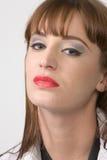 Portret van jonge brunette Stock Foto