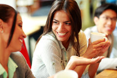Portret van jonge glimlachende onderneemsters Royalty-vrije Stock Foto
