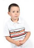 Portret van jonge jongen royalty-vrije stock foto's