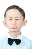 Portret van jonge jongen. Stock Afbeeldingen