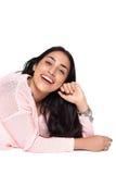 Portret van jonge Latijnse vrouw Royalty-vrije Stock Fotografie