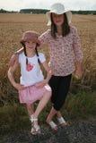 Portret van jonge meisjes Stock Foto