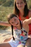 Portret van jonge meisjes Royalty-vrije Stock Afbeeldingen