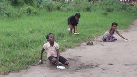 Portret van jonge meisjes stock video