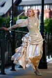 Portret van jonge mooie bruid Royalty-vrije Stock Foto's