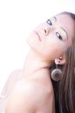 Portret van jonge mooie vrouw Royalty-vrije Stock Afbeeldingen