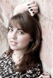 Portret van jonge mooie vrouw royalty-vrije stock foto's