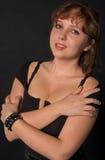 Portret van jonge vrouw Stock Fotografie
