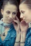 Portret van jonge vrouwen Royalty-vrije Stock Fotografie