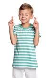 Portret van jongen Royalty-vrije Stock Afbeelding