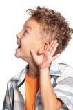 Portret van jongen royalty-vrije stock foto