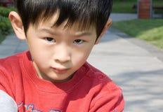 Portret van jongen Royalty-vrije Stock Afbeeldingen