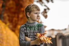 Portret van jongenskind Stock Foto's