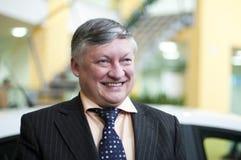 Portret van Karpov Royalty-vrije Stock Afbeelding