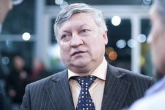 Portret van Karpov Stock Afbeeldingen