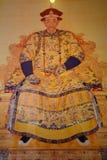 Portret van keizer Kangxi van Qing Dynasty Stock Fotografie