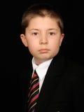 Portret van kind in kostuum Stock Fotografie