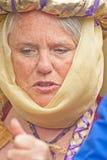 Portret van Koningin Elizabeth bij Kasteel Brodie Royalty-vrije Stock Foto