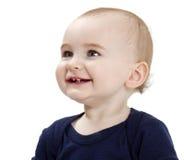 Portret van lachende peuter stock foto