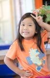 Portret van leuk Aziatisch meisje royalty-vrije stock afbeeldingen