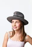 Portret van leuk jong meisje Royalty-vrije Stock Afbeelding