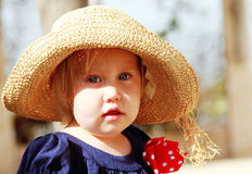 Portret van leuk meisje royalty-vrije stock afbeeldingen