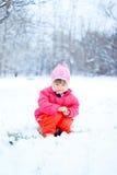 Portret van leuk meisje Royalty-vrije Stock Afbeelding