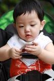 Portret van leuke babyjongen Stock Afbeeldingen