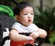 Portret van leuke babyjongen Royalty-vrije Stock Foto