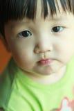 Portret van leuke babyjongen Royalty-vrije Stock Fotografie