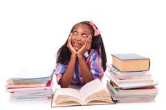Portret van leuke student Stock Foto