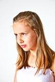 Portret van leuke tiener Stock Fotografie