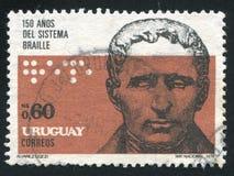 Portret van Louis Braille royalty-vrije stock fotografie