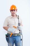 Portret van mannelijke technicus Royalty-vrije Stock Foto's