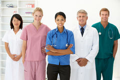 Portret van medische beroeps Stock Foto's