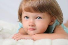 Portret van meisje Stock Afbeelding