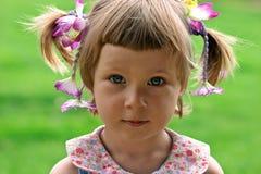 Portret van meisje royalty-vrije stock fotografie