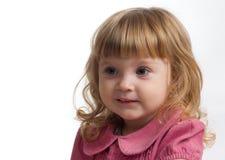Portret van meisje. stock afbeeldingen