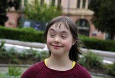 Portret van Meisje het Glimlachen Stock Foto's
