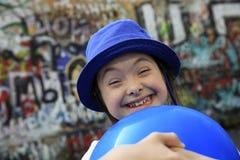 Portret van Meisje het Glimlachen Stock Afbeeldingen