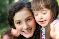 Portret van meisjes Royalty-vrije Stock Foto's