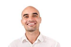 Portret van mens het glimlachen. royalty-vrije stock fotografie