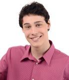 Portret van mens het glimlachen. royalty-vrije stock afbeeldingen
