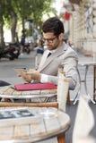 Portret van moderne zakenman Royalty-vrije Stock Afbeeldingen