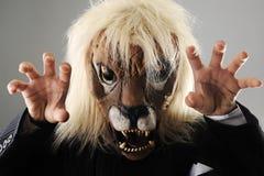 Portret van monster chef- zakenman stock foto's